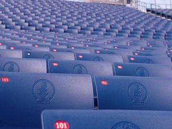 Seats at Centennial Olympic Stadium Atlanta