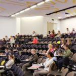 Auditorium seating at Victoria University Melbourne