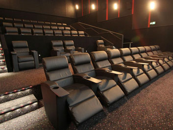 HOYTS Chadstone cinema recliner seating installation project planning and management