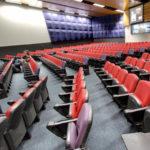 Auditorium seating at La Trobe University Melbourne