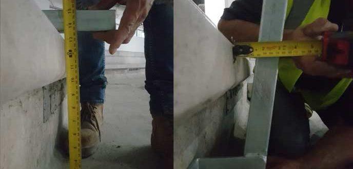 Measurements check for site specific details