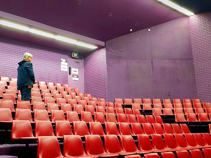 Thorough pre-installation drama auditorium assessment